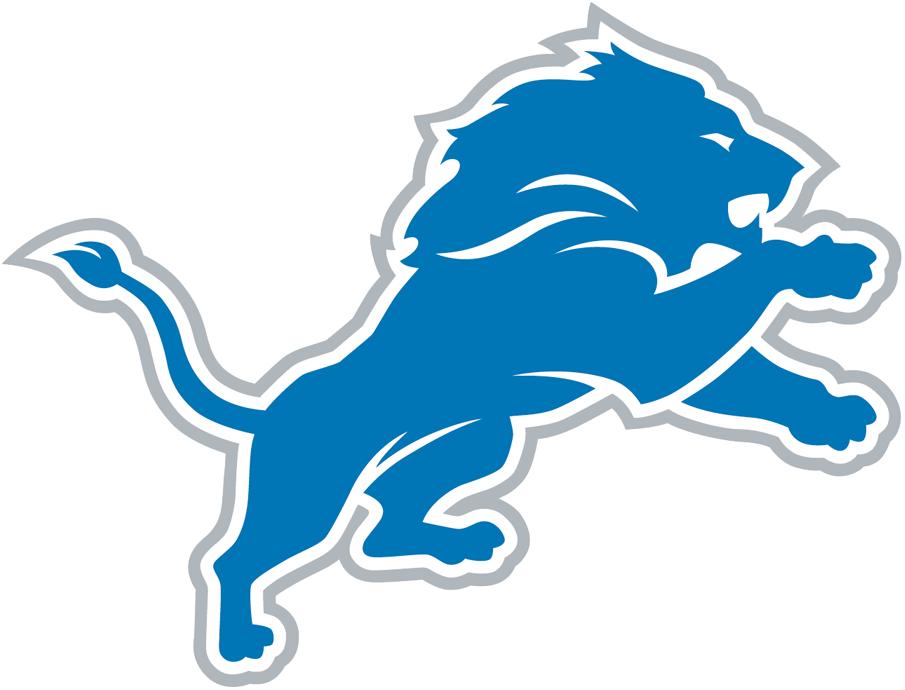 Detroit Lions Logo Primary Logo (2017-Pres) -  SportsLogos.Net