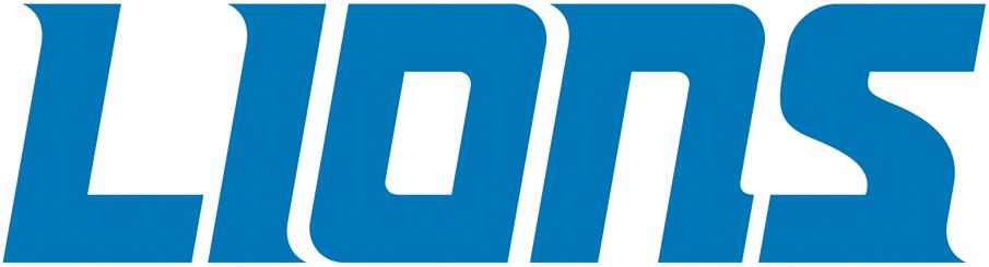 Detroit Lions Logo Wordmark Logo (2017-Pres) -  SportsLogos.Net