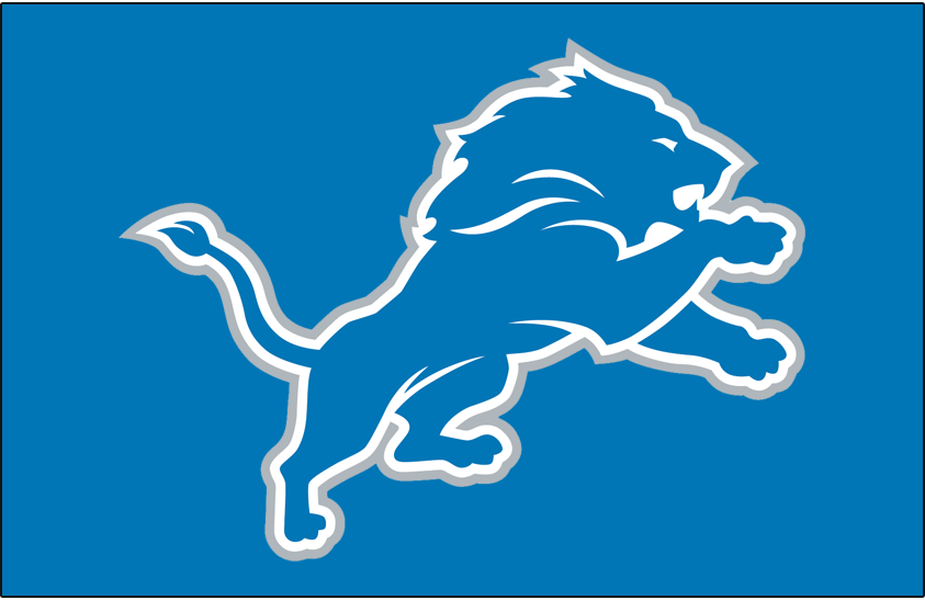 other detroit lions logos and uniforms from this era