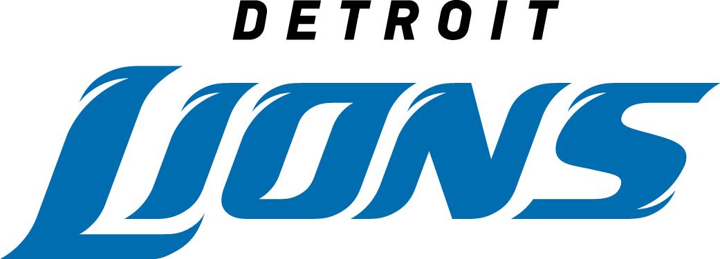 Detroit Lions Logo Wordmark Logo (2009-2016) -  SportsLogos.Net