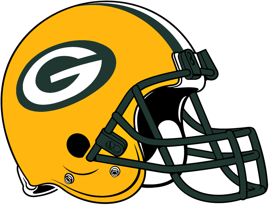 Image result for green bay packer helmet