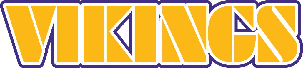Minnesota Vikings Logo Wordmark Logo (1982-2003) -  SportsLogos.Net