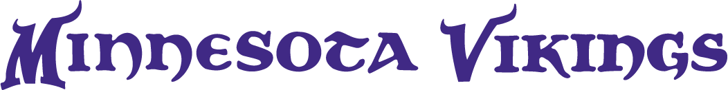 Minnesota Vikings Logo Wordmark Logo (2004-2009) -  SportsLogos.Net