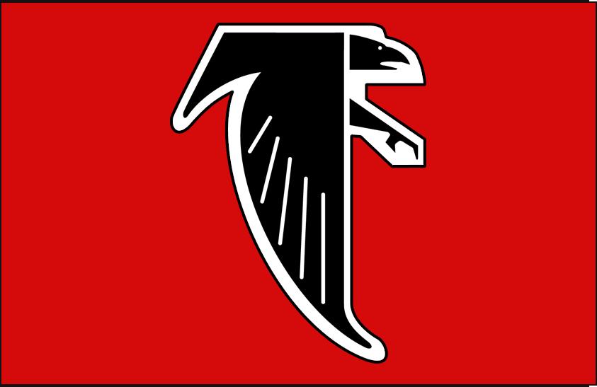 Atlanta Falcons Logo Primary Dark Logo (1990-2002) -  SportsLogos.Net