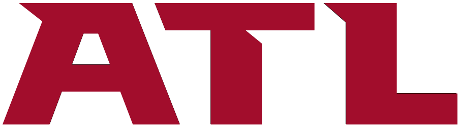Atlanta Falcons Logo Wordmark Logo (2020-Pres) - ATL in red SportsLogos.Net