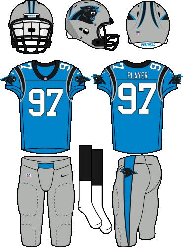 a97c21a8acd Carolina Panthers Alternate Uniform - National Football League (NFL ...