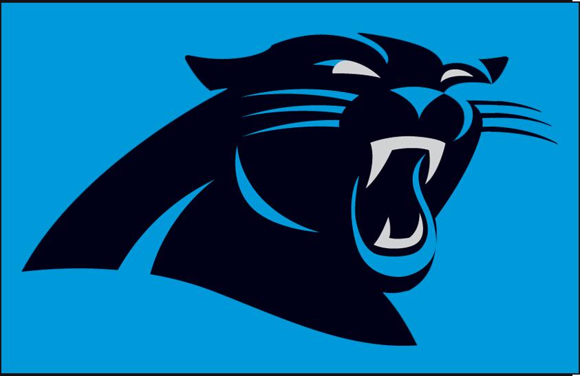 Carolina Panthers Logo Primary Dark Logo (2012-Pres) -  SportsLogos.Net