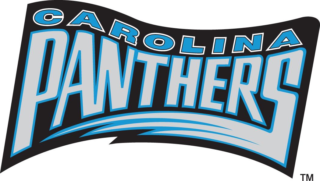 Carolina Panthers Logo Wordmark Logo (1995) -  SportsLogos.Net