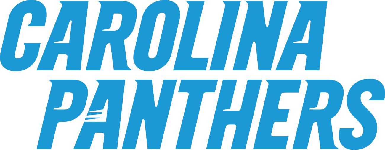 Carolina Panthers Logo Wordmark Logo (2012-Pres) -  SportsLogos.Net