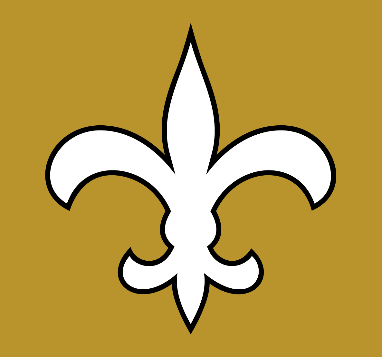 New Orleans Saints Logo Alt on Dark Logo (1976-1999) -  SportsLogos.Net