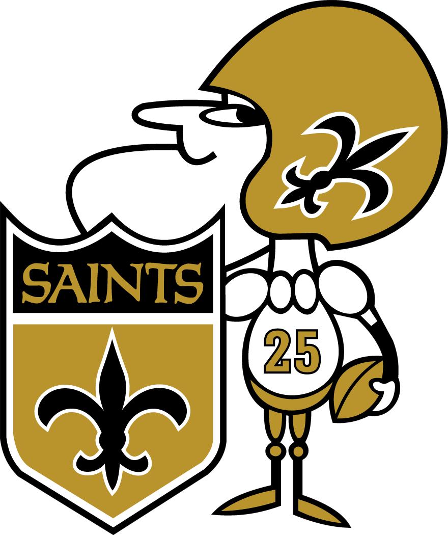 New Orleans Saints Logo Alternate Logo (1967-1984) -  SportsLogos.Net