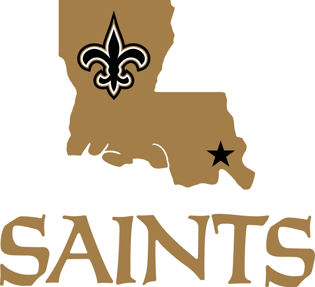 New Orleans Saints Logo Alternate Logo (2000-Pres) -  SportsLogos.Net