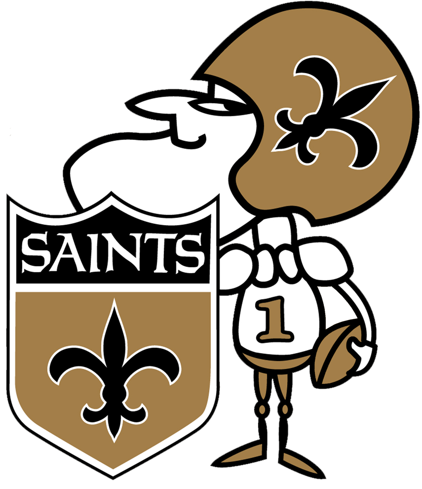 New Orleans Saints Logo Alternate Logo (2009-Pres) -  SportsLogos.Net