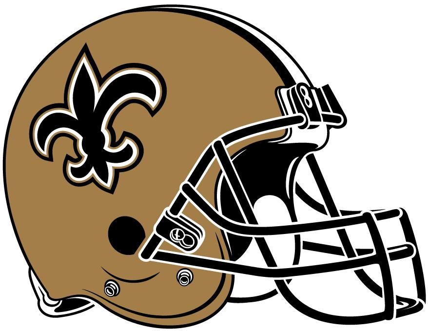 e73a5f3730e New Orleans Saints Helmet - National Football League (NFL) - Chris ...