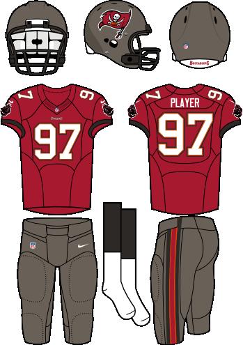 Tampa Bay Buccaneers Home Uniform National Football League Nfl Chris Creamer S Sports Logos Page Sportslogos Net