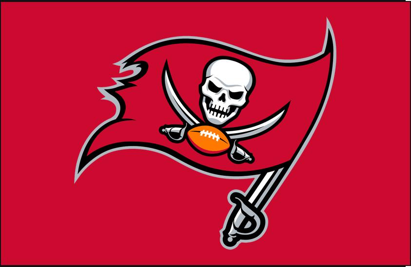 Tampa Bay Buccaneers Logo Primary Dark Logo (2014-2019) -  SportsLogos.Net