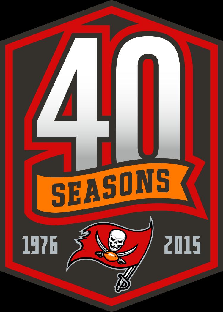 Tampa Bay Buccaneers Logo Anniversary Logo (2015) -  SportsLogos.Net