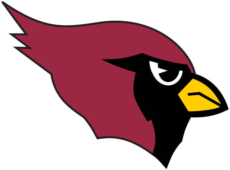 Arizona Cardinals Logo Primary Logo (1994-2004) - Cardinal red right-facing cardinal head SportsLogos.Net
