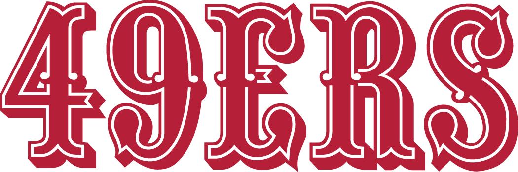 San Francisco 49ers Wordmark Logo National Football League Nfl Chris Creamer S Sports Logos Page Sportslogos Net