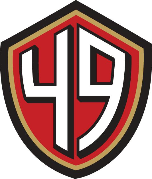 San Francisco 49ers Logo Alternate Logo (2009-2011) -  SportsLogos.Net