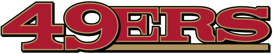 San Francisco 49ers Logo Wordmark Logo (2009-Pres) -  SportsLogos.Net