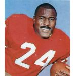 San Francisco 49ers (1963) JD Smith posing for a trading card in San Francisco 49ers home uniform in 1963