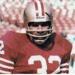 San Francisco 49ers (1978) OJ Simpson in San Francisco 49ers home uniform in 1978