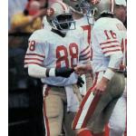 San Francisco 49ers (1984) Freddie Solomon in San Francisco 49ers road uniform in 1984