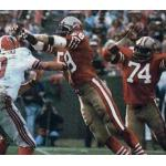 San Francisco 49ers (1981) San Francisco 49ers in their home uniform in 1981
