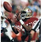 San Francisco 49ers (1988) Jerry Rice in the San Francisco 49ers home uniform in 1988