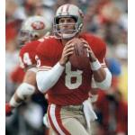 San Francisco 49ers (1990) Steve Young in the San Francisco 49ers home uniform in 1990