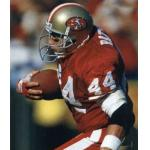 San Francisco 49ers (1993) Tom Rathman in the San Francisco 49ers home uniform in 1993