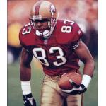 San Francisco 49ers (1998) JJ Stokes in the San Francisco 49ers home uniform in 1998