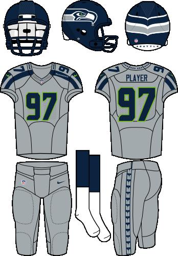 brand new b236b 505a8 Seattle Seahawks Alternate Uniform - National Football ...