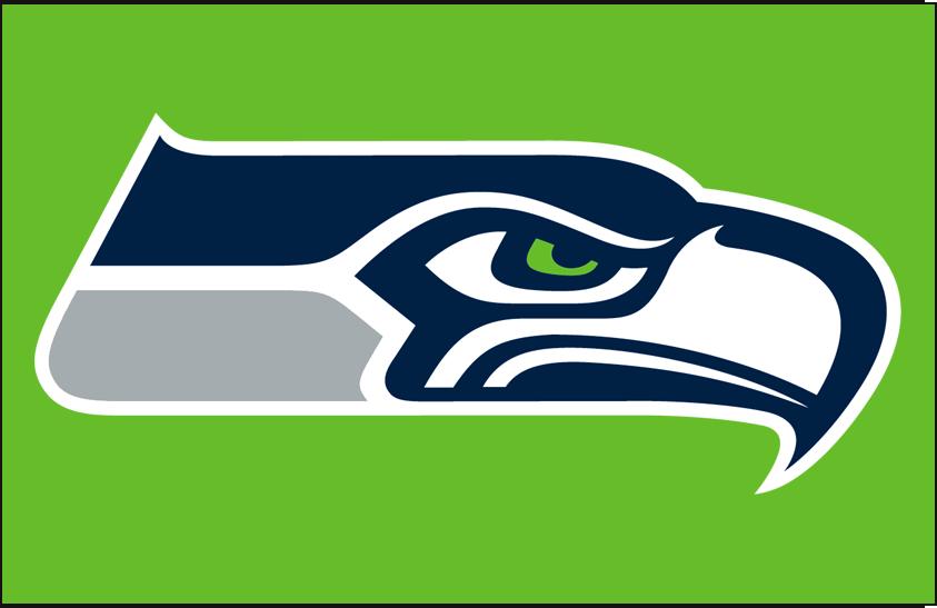 Seattle Seahawks Logo Primary Dark Logo (2012-Pres) -  SportsLogos.Net