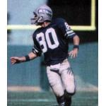 Seattle Seahawks (1981) Steve Largent wearing the Seattle Seahawks home uniform during the 1981 season