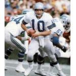 Seattle Seahawks (1981) Jim Zorn wearing the Seattle Seahawks road white uniform during the 1981 season