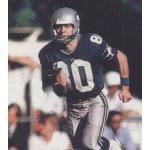 Seattle Seahawks (1984) Steve Largent wearing the Seattle Seahawks home blue uniform during the 1984 season