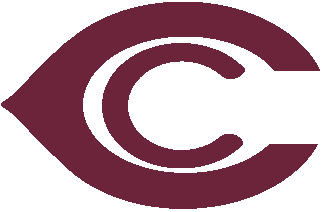 Chicago Cardinals Logo Primary Logo (1920-1934) - A red C inside a large red wishbone C SportsLogos.Net