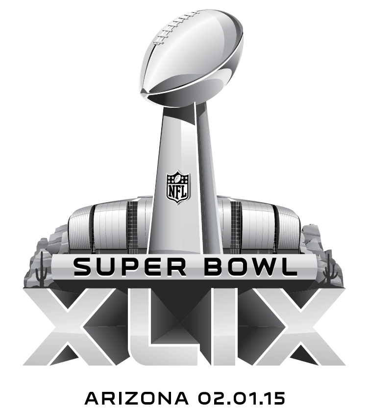Super Bowl Primary Logo (2014) - Super Bowl XLIX Regional Logo - game