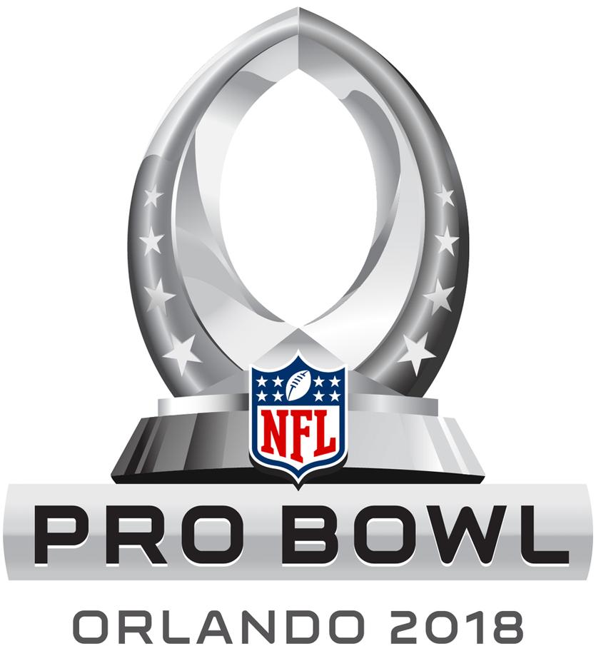 Pro Bowl Logo Primary Logo (2018) - 2018 NFL Pro Bowl Logo - Orlando, FL SportsLogos.Net