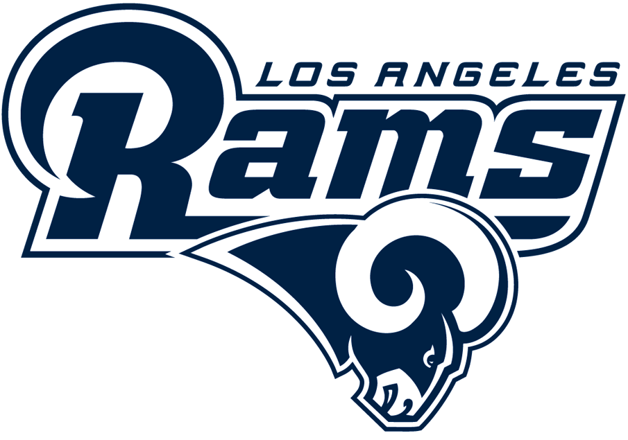 Los Angeles Rams Logo Alternate Logo (2017-2019) -  SportsLogos.Net