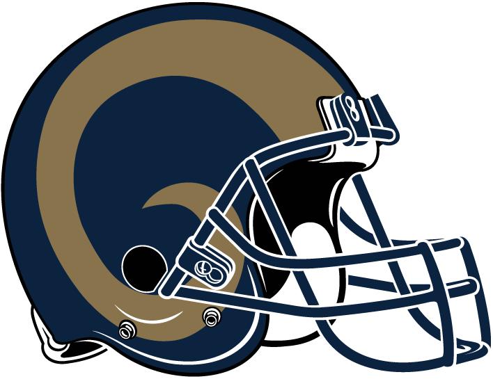 Los Angeles Rams Helmet Helmet (2016) -  SportsLogos.Net
