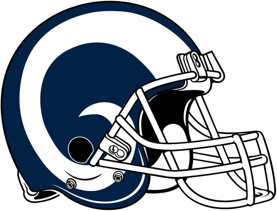 los angeles rams helmet logo national football league free clipart football helmet outline clip art football helmet black and white