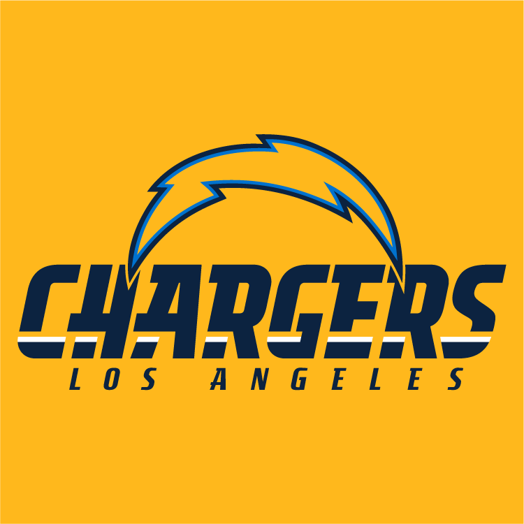 Los Angeles Chargers Logo Alternate Logo (2017) -  SportsLogos.Net