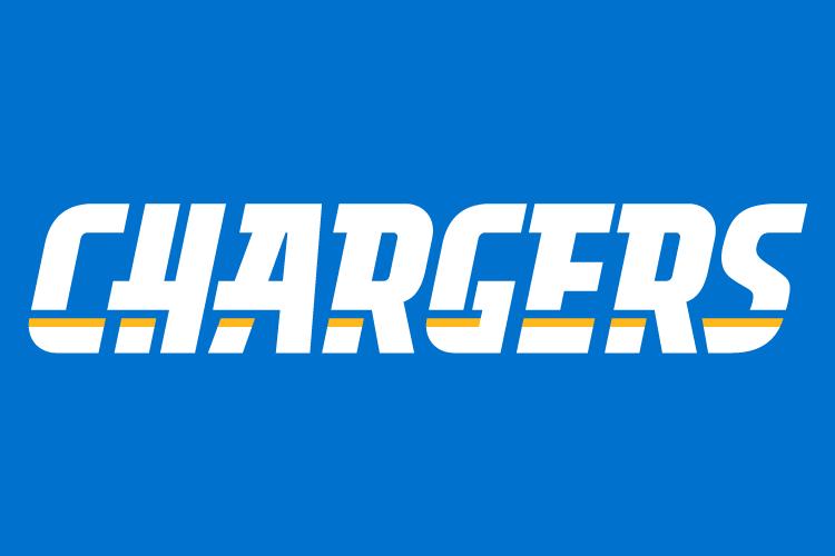 Los Angeles Chargers Logo Wordmark Logo (2017-2019) -  SportsLogos.Net