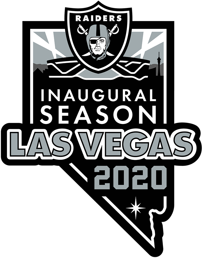 Las Vegas Raiders Anniversary Logo National Football League Nfl Chris Creamer S Sports Logos Page Sportslogos Net