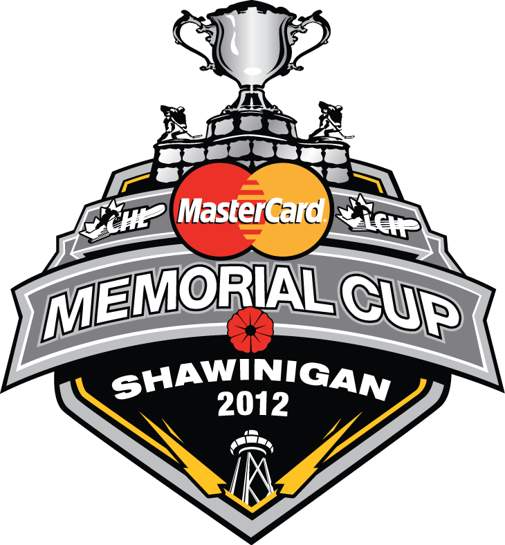 Memorial Cup Logo Primary Logo (2011/12) - 2012 CHL Memorial Cup Logo - Tournament played in Shawinigan, Quebec SportsLogos.Net