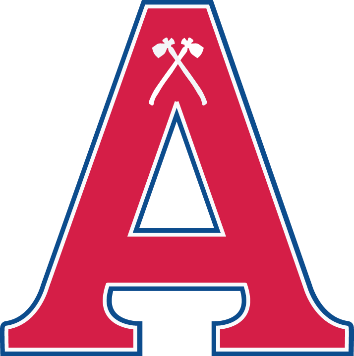 Acadia Axemen Logo Primary Logo (2007-Pres) -  SportsLogos.Net