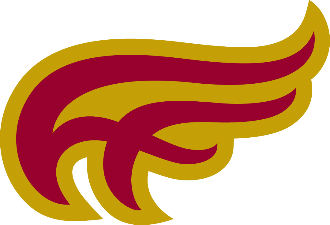 Mount Allison Mounties Logo Partial Logo (2011-Pres) - Athletic Flame mark 2 SportsLogos.Net